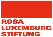 Logo Nadace Rosy Luxemburgové