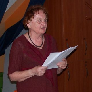 Přednáška Marie L. Neudorflové ze dne 30. 5. 2018 v Komunitním centrum Prádelna v Praze