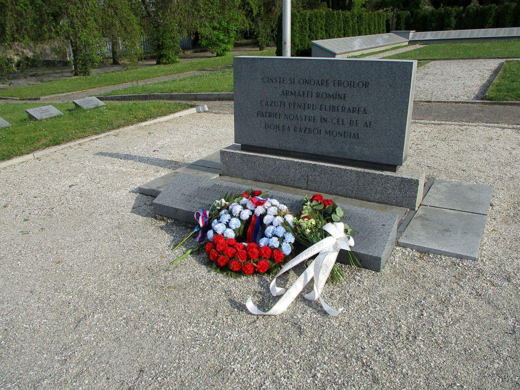 Ústřední hřbitov v Brně - pohřebiště rumunských vojáků